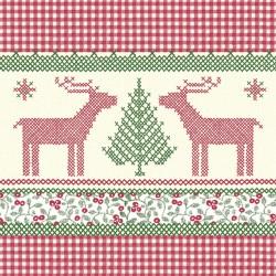Serwetki flizelinowe świąteczne