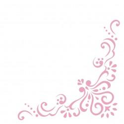 Serwetki flizelinowe jasny róż