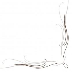 Serwetki flizelinowe brązowo-szare 40x40 cm