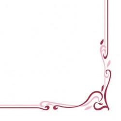 Serwetki flizelinowe bordowe