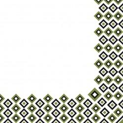 Serwetki flizelinowe zielone