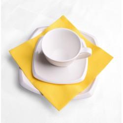 Mank Serwetki flizelinowe żółte