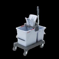 Vileda Professional Double Bucket System Push